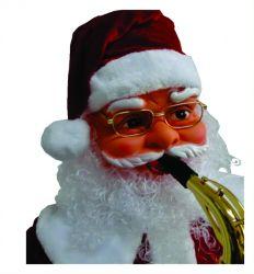 Papai Noel Animado Dança Toca Sax 1,80m