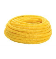 Eletroduto Corrugado Amarelo 1 Bobina com 25m
