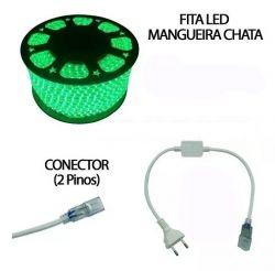 Mangueira Fita Chata  40m +2 Conectore
